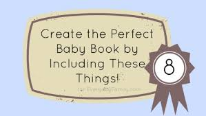 baby book create the baby book by including these 8 things