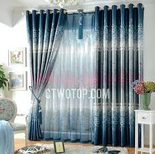 Stylish Blackout Curtains Light Blue Curtains Blackout Stylish Blackout Floral Beautiful