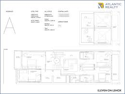 The Lenox Floor Plan Eleven On Lenox New Miami Florida Beach Homes