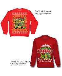 mutant turtles sweaters choose your