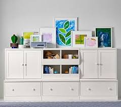Pottery Barn Storage Bins Storage Wall Systems For Kids U0026 Babies Pottery Barn Kids