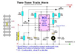 train horn two tone train horn u2013 circuit wiring diagrams