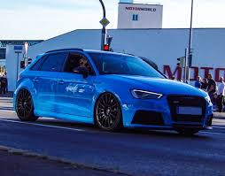audi rs3 blue baby blue audi rs3 madwhips