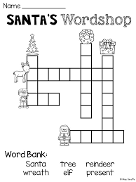 Light Brown Crossword Best 25 Christmas Crossword Ideas On Pinterest Crossword