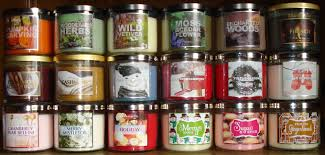 bath and body works slatkin candle haul review fall winter