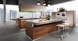 wood kitchen furniture modern kitchen ideas with wood furniture and pendant