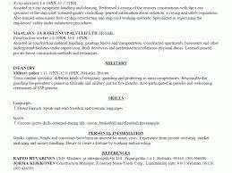 Sample Resume For Material Handler by Download Examples Of A Resume Haadyaooverbayresort Com