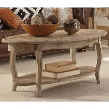 Rustic Oval Coffee Table Alaterre Rustic Reclaimed Wood Oval Coffee Table Free Shipping