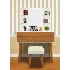 Cermin Brown dove s furniture meja rias minimalis mr 018 2 laci besar 2 laci