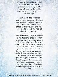 wedding quotes non religious my non religious and sweet wedding ceremony script par 1