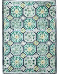 Area Rugs Blue Deals On Threshold Indoor Outdoor Flatweave