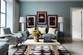 Blue Grey Living Room Colour Scheme Living Room Design Ideas - Blue living room color schemes
