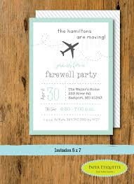 going away party invitations going away party moving party invitation packing party we