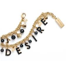 black bracelet women images Dolce gabbana gold dolce gabbana the one desire women charm jpg