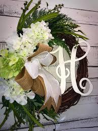 wreath for front door spring wreath summer wreath everyday wreath hydrangea wreath