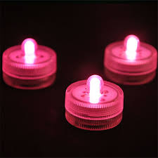 aliexpress buy 120pcs lot pink color submersible led lights