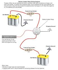 dual battery isolator wiring diagram deadinside co