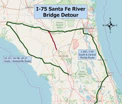Map Of Ocala Fl Interstate 75 Likely Won U0027t Close After All Firstcoastnews Com