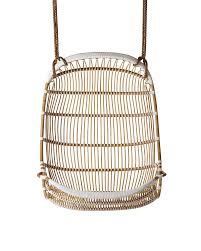 Rattan Swing Bench Double Hanging Rattan Chair Chairs Serena And Lily