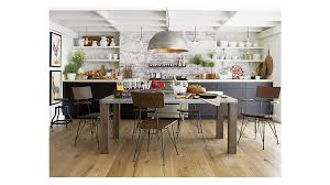 Galvin Dining Table Crate And Barrel - Barrel kitchen table