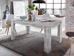 Esszimmer Tisch Vintage Esstisch Im Shabby Chic Look Pinie Weiß