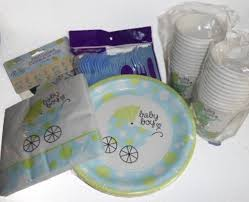 baby shower supplies online baby boy shower party supplies plates napkins