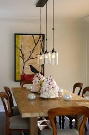Dining Room Hanging Lights Roost Glass Cylinder Pendant Contemporary Dining Room