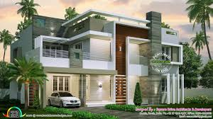 Home Design Sq Ft Sober Color Contemporary House Kerala Home