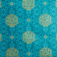teal gold merry wrapping paper the container store