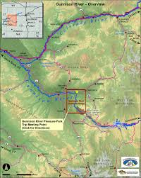 Highly Detailed River Map Of by Rafting In Colorado The Gunnison River Whitewater Rafting