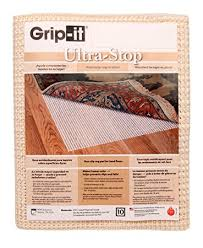 amazon com grip it ultra stop non slip rug pad for rugs on