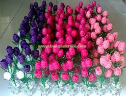 cara membuat kerajinan akrilik pesanan bunga akrilik tulip untuk souvenir saha bunga akrilik