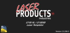 laser templator software update v 290 laser products industries