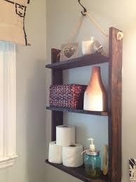 Hanging Bathroom Shelves by Pallet Shelves Pallets Diy Pallet Projects Pinterest