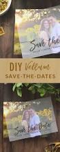 Diy Save The Dates Diy Layered Vellum Save The Date Cards Cards U0026 Pockets Design