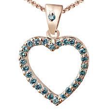 round stone necklace images Blue diamond pendant bijoux majesty jpg