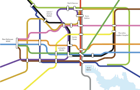 Baltimore City Map The Future Of Public Transit In Baltimore City Wypr