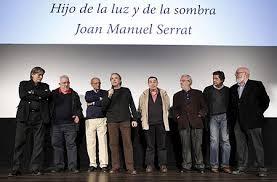 ... Imanol Uribe, Pedro Olea, Agustín Sánchez Vidal, José Luis Cuerda, Manuel Gómez Pereira, Pere Portabella, Rogelio Caballero y Ana Marquesán. - ep001986_1