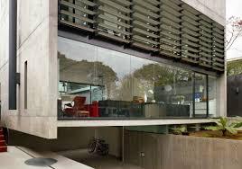 extensive house program continuos fluids space perspective design