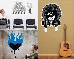 chambre bob marley 42 stickers muraux graffiti pour la chambre ado extraordinaire