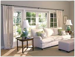 Curtains For Large Windows Inspiration Excellent Inspiration Ideas Picture Window Curtain Beautiful Large