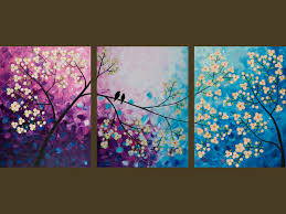 best 25 multiple canvas paintings ideas on pinterest 3 canvas