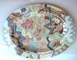 ceramic platter 102 best clay platters trays images on pottery