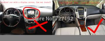 lexus rx330 accessories 2 din andriod 4 4 2 car dvd player with gps 3g wifi bluetooth for