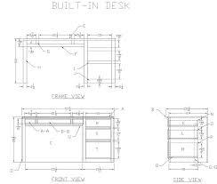 Office Desk Design Plans Desk Design Plans Home Design