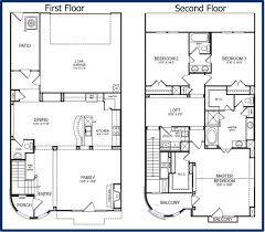 1 and 1 2 story floor plans webshoz com