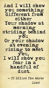 the wasteland t s eliot eliot pinterest poem wisdom and