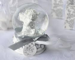 baptism snow globes 24 angel cherub snow globe baptism christening wedding baby shower