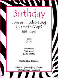 birthday invitations template blueklip com