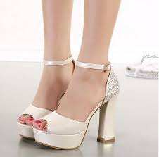 wedding shoes chunky heel best 25 platform wedding shoes ideas on white wedding